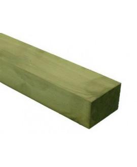 Lambourde Pin Sylvestre 45x70mm traité classe 4 vert  – Lg= 3.00m à 6.00m