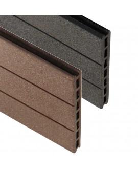 Lame écran claustra Bois Composite SILVADEC ÉLÉGANCE 21x150mm - Lg = 1.783 ml