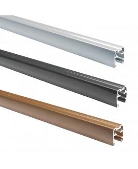 Lisse haute SILVADEC aluminium 40x38x1730mm finition lisse
