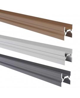 Lisse intermédiaire SILVADEC aluminium 23x24x1730mm finition lisse