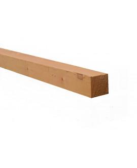 Liteau sapin épicéa 38x38mm – Lg = 3.50 à 5.10m traité classe 2