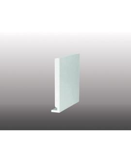 MEP Planche RIVECEL 9 PVC H.25 cm blanc en 5m00 Ep.9 RL255