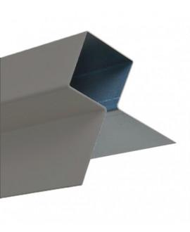 MetalTrim angle extérieur JH40-15 Gris Ardoise RAL 7042 en 3,00 m