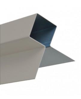 MetalTrim angle extérieur JH90-70 Gris Perle RAL 7047 en 3,00 m