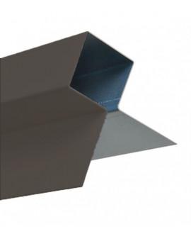 MetalTrim angle extérieur JH80-70 Noir Expresso RAL 7022 en 3,00 m