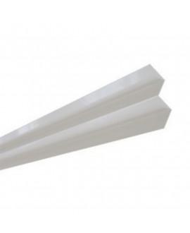 MetalTrim angle intérieur JH10-20 Blanc Arctique - Lg = 3.00 m