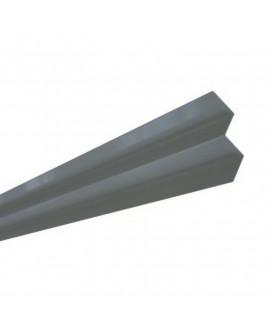 MetalTrim angle intérieur JH70-20 Bleu Acier - Lg = 3.00 m