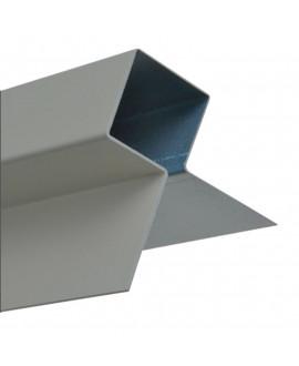 MetalTrim angle extérieur JH10-20 Bleu Acier - Lg = 3.00m