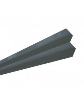 MetalTrim angle intérieur JH50-30 Bleu du Soir - Lg = 3.00 m