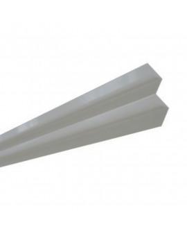 MetalTrim angle intérieur JH70-10 Brume du Matin - Lg = 3.00 m