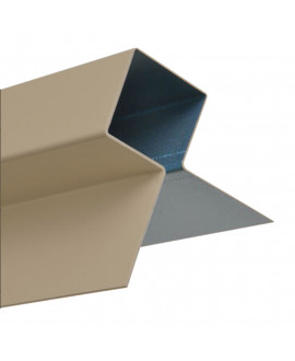 MetalTrim angle extérieur JH20-30 Brun Khaki - Lg = 3.00m