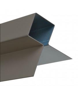 MetalTrim angle extérieur JH90-30 Gris métal - Lg = 3.00m