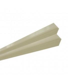 MetalTrim angle intérieur JH20-10 Sable Clair - Lg = 3.00 m