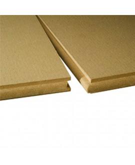 ISOLAIR panneau fibre de bois rigide rainé bouveté, isolant et pare-pluie 2500X770 mm