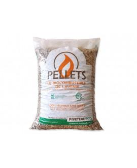Pellets, granulés bois sac de 15 Kg
