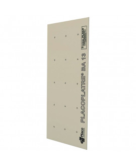 Plaque de plâtre BA 13 2600x1200