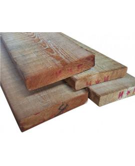 Planche Mélèze 32x150mm - Lg = de 3.60m à 5.10m
