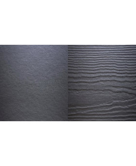 HardiePlank  VL Smooth (emboitement) 3600x182x11mm Gris Anthracite  (mĠ utile)