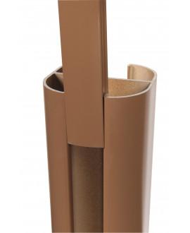 Baguette de finition SILVADEC Brun 27x9x1815mm finition lisse