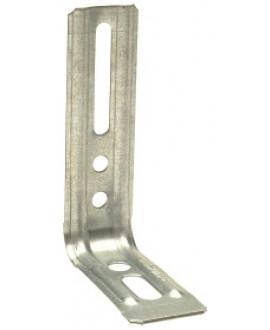 Équerre nervurée droite SIMPSON Larg. 30mm x Prof. 71.5mm x Haut. 130mm réf END130/1,5