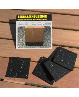 Tapis de Protection pour lambourde 90x90 ép.8mm - Bte 24