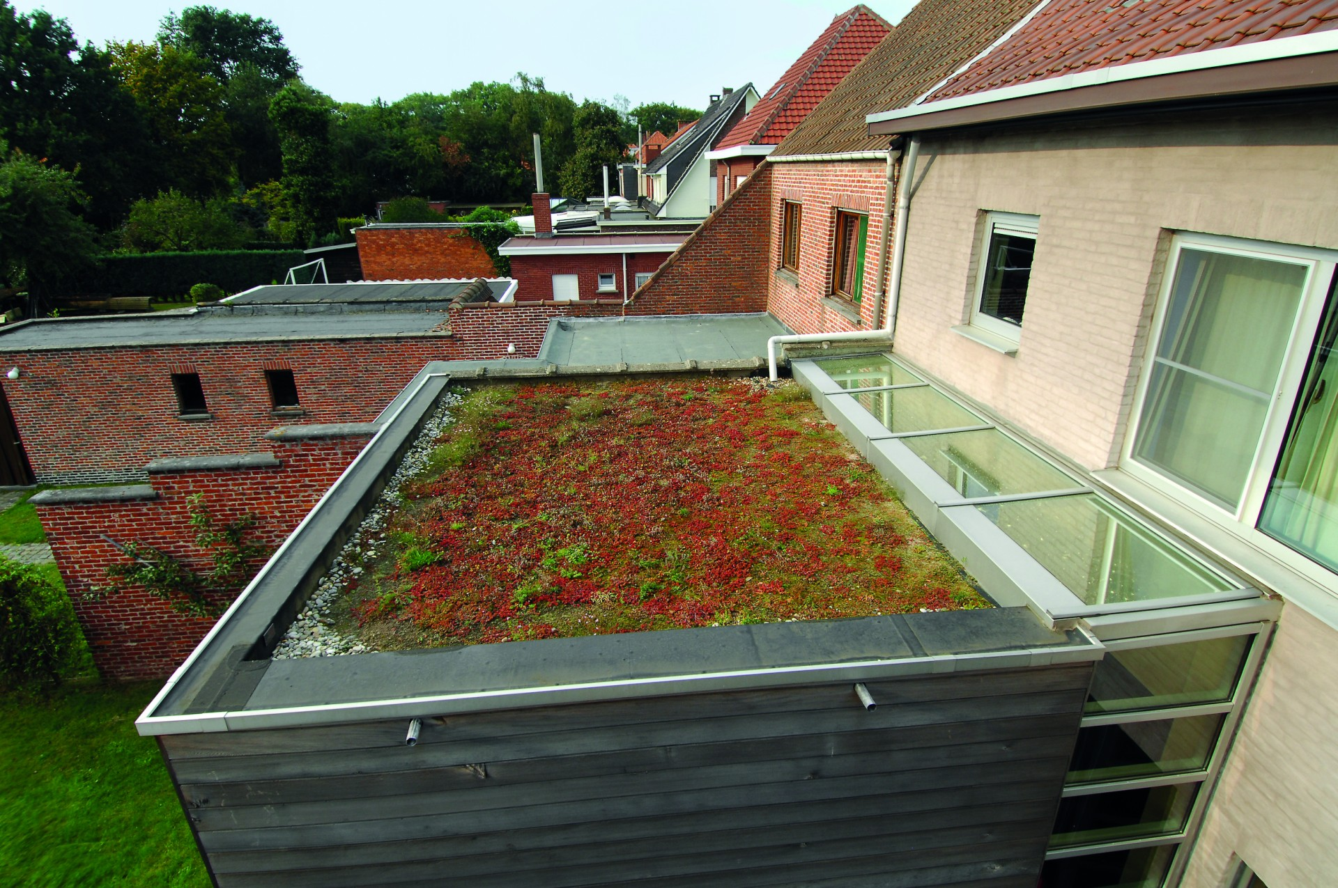 Membrane Epdm Pour Toiture Terrasse Bois De Construction
